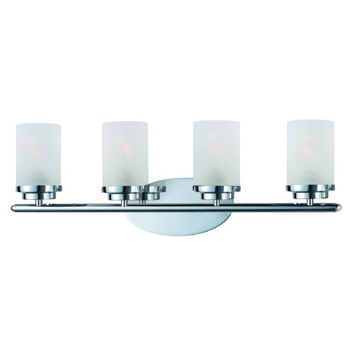 Maxim Lighting Maxim Lighting Corona Chrome Bathroom Light 10214FTPC