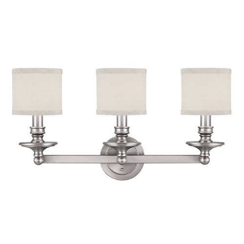 Capital Lighting Capital Lighting Midtown Matte Nickel Bathroom Light 1238MN-451