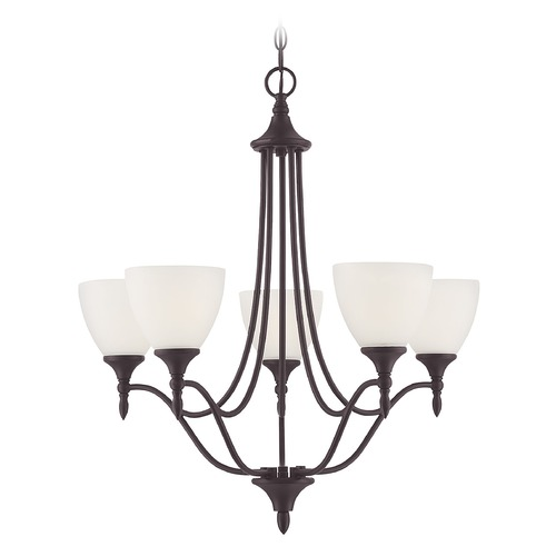 Savoy House Savoy House Lighting Herndon English Bronze Chandelier 1-1001-5-13