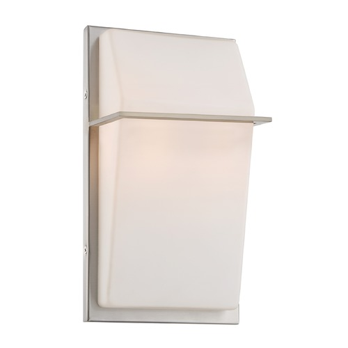 Designers Fountain Lighting Designers Fountain Maddox Satin Platinum Sconce 6080-SP