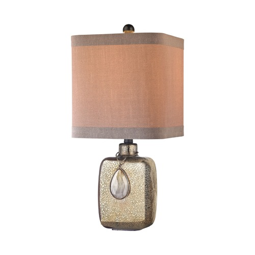 Dimond Lighting Dimond Cadiz Bronze Mercury Table Lamp with Square Shade D2926
