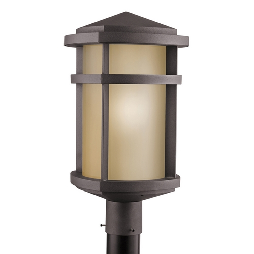Kichler Lighting Kichler Post Light in Architectural Bronze Finish 9967AZ