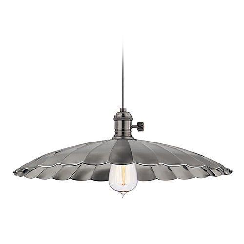Hudson Valley Lighting Pendant Light in Historic Nickel Finish 9001-HN-ML3