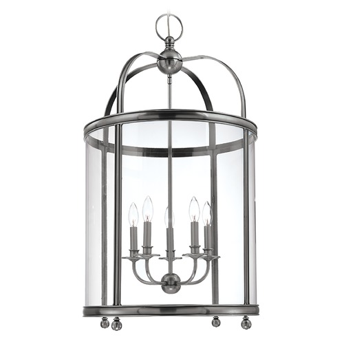 Hudson Valley Lighting Pendant Light with Clear Glass in Polished Nickel Finish 7820-PN