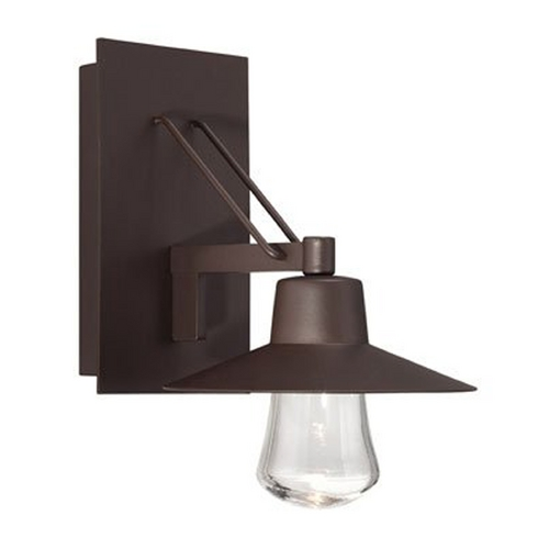 Modern Forms by WAC Lighting Modern Forms Suspense Bronze LED Outdoor Wall Light  WS-W1911-BZ