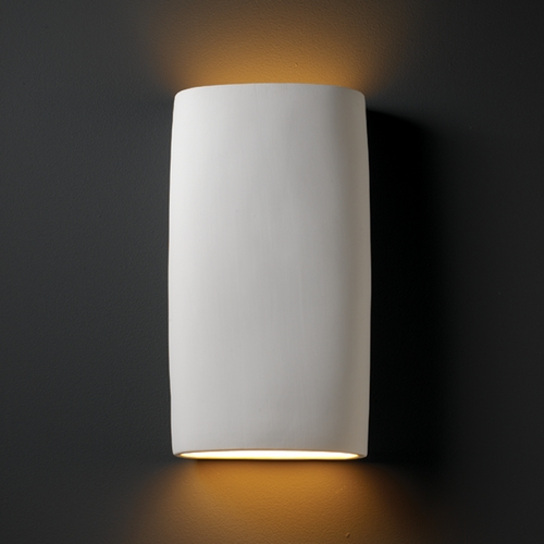Justice Design Group Sconce Wall Light in Bisque Finish CER-8859-BIS
