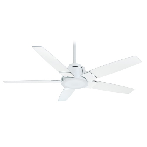 Casablanca Fan Co Casablanca Fan Zudio Snow White LED Ceiling Fan with Light 59110