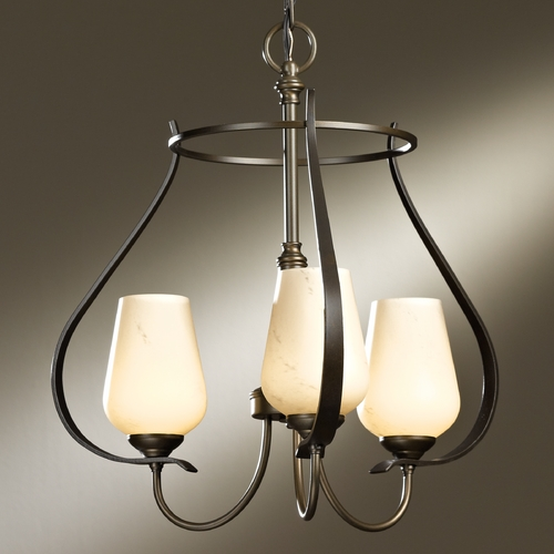 Hubbardton Forge Lighting Hubbardton Forge Lighting Flora Bronze Mini-Chandelier 103047-SKT-05-HH0303