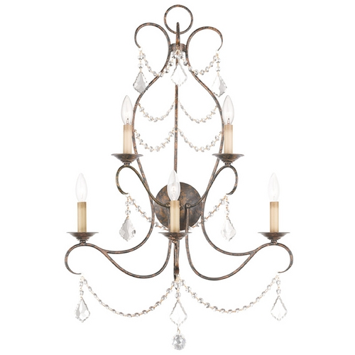 Livex Lighting Livex Lighting Chesterfield Venetian Golden Bronze Sconce 6445-71