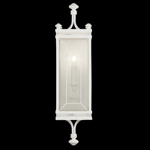Fine Art Lamps Seeded Glass Sconce White Fine Art Lamps 808150-5ST
