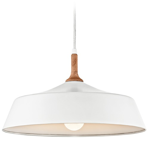 Kichler Lighting Kichler Lighting Danika Pendant Light with Bowl / Dome Shade 43683WH