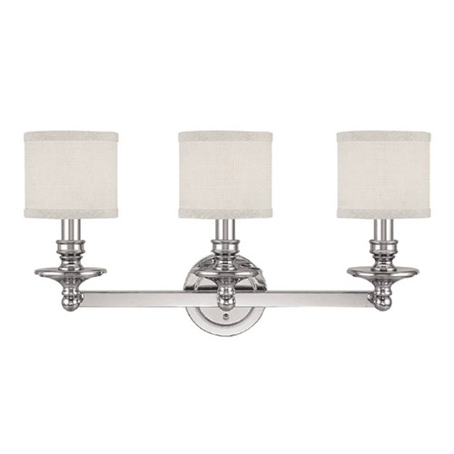 Capital Lighting Capital Lighting Midtown Polished Nickel Bathroom Light 1238PN-451