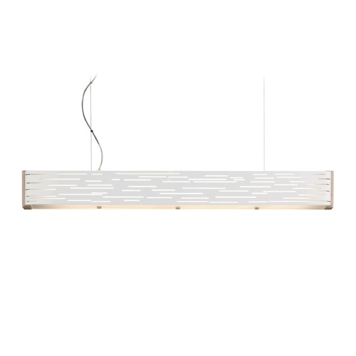 Tech Lighting White LED Linear Pendant Light by Tech Lighting 700LSRVLWM-LED830