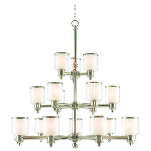 Livex Lighting Livex Lighting Middlebush Polished Nickel Chandelier 40219-35