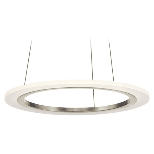 Elan Lighting Elan Lighting Hyvo Brushed Nickel LED Pendant Light 83671