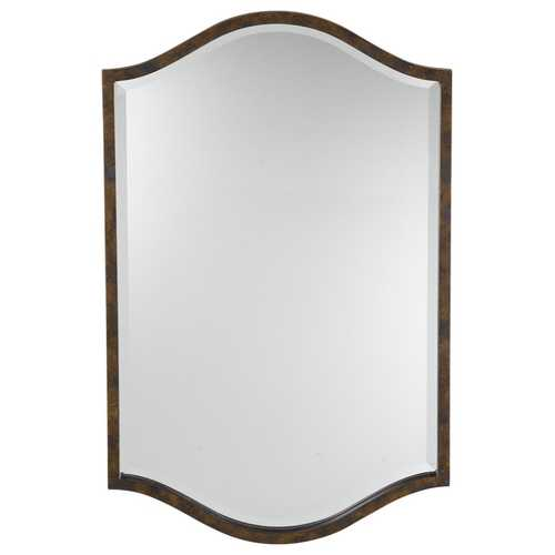 Feiss Lighting Drawing Room Arched 21-Inch Mirror MR1077WAL