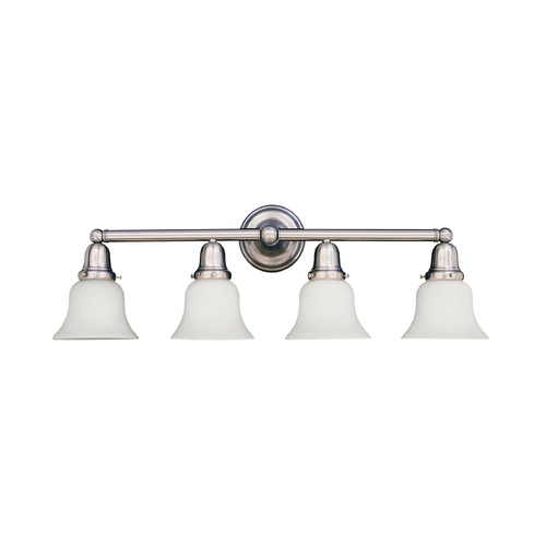 Hudson Valley Lighting Bathroom Light with White Glass in Polished Chrome Finish 864-PC-341