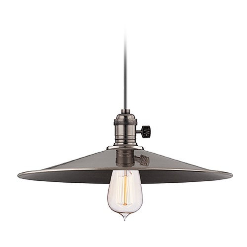 Hudson Valley Lighting Pendant Light in Historic Nickel Finish 9001-HN-MM1