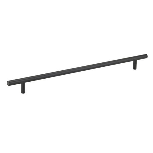 Seattle Hardware Co Black Cabinet Pull 13-Inch Center to Center HW3-16-BK