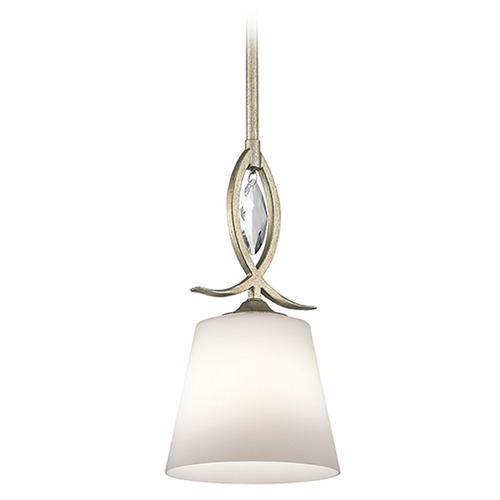 Kichler Lighting Kichler Lighting Casilda Mini-Pendant Light with Coolie Shade 43568SGD