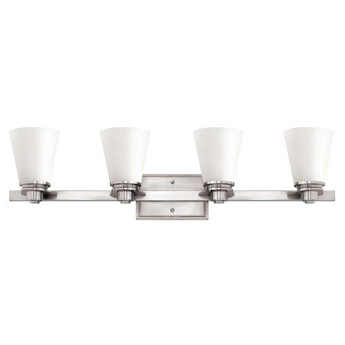 Hinkley Lighting Hinkley Lighting Avon Brushed Nickel LED Bathroom Light 5554BN-LED