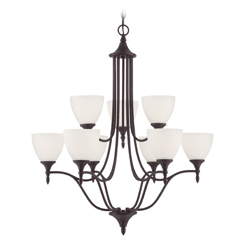 Savoy House Savoy House Lighting Herndon English Bronze Chandelier 1-1002-9-13