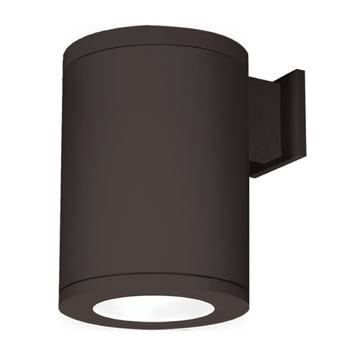 WAC Lighting 8-Inch Bronze LED Tube Architectural Wall Light 4000K 3725LM DS-WS08-F40S-BZ