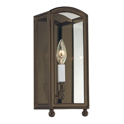 Hudson Valley Lighting Sconce Wall Light with Clear Glass in Distressed Bronze Finish 8401-DB