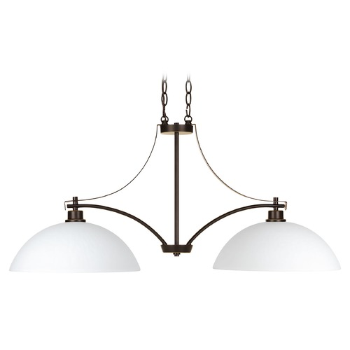 Progress Lighting Progress Lighting Legend Antique Bronze Island Light with Bowl / Dome Shade P4254-20