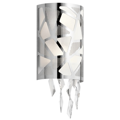 Elan Lighting Elan Lighting Angelique Chrome Sconce 83674