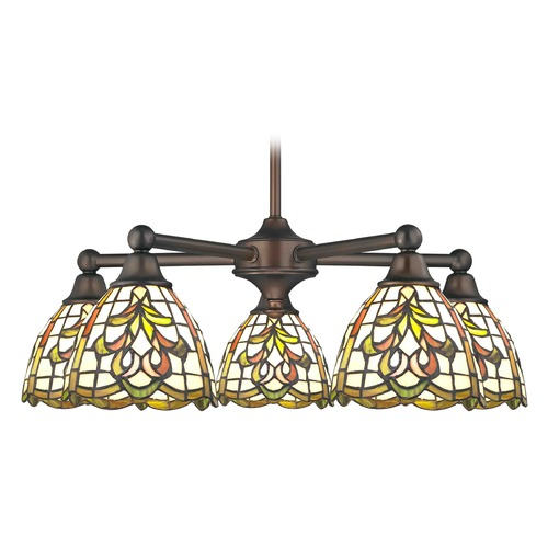 Design Classics Lighting Design Classics Gastown Fuse Neuvelle Bronze Chandeliers with Bowl / Dome 594-220 GL1045