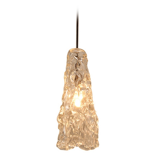 WAC Lighting Wac Lighting European Collection Chrome Mini-Pendant with Conical Shade MP-920-CL/CH
