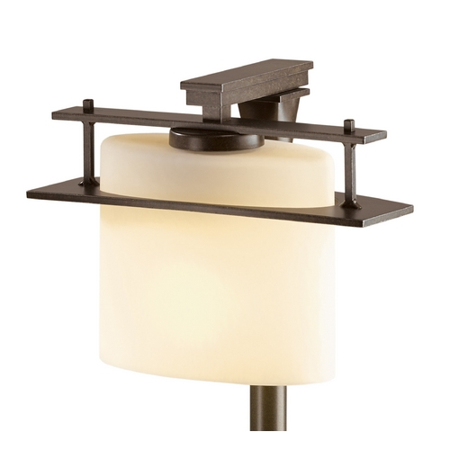 Hubbardton Forge Lighting Hubbardton Forge Lighting Ellipse Bronze Post Light 347521-05-ZX182