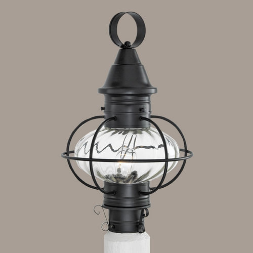 Norwell Lighting Norwell Lighting Vidalia Onion Black Post Light 1611-BL-PR