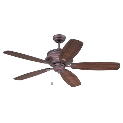Craftmade Lighting Craftmade Lighting Yorktown Oiled Bronze Ceiling Fan Without Light YOR52OB5