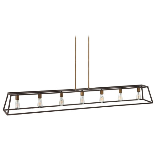 Hinkley Lighting Hinkley Fulton 7-Light Chandelier in Bronze 3355BZ