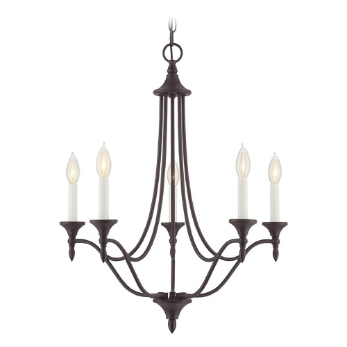 Savoy House Savoy House Lighting Herndon English Bronze Mini-Chandelier 1-1008-5-13