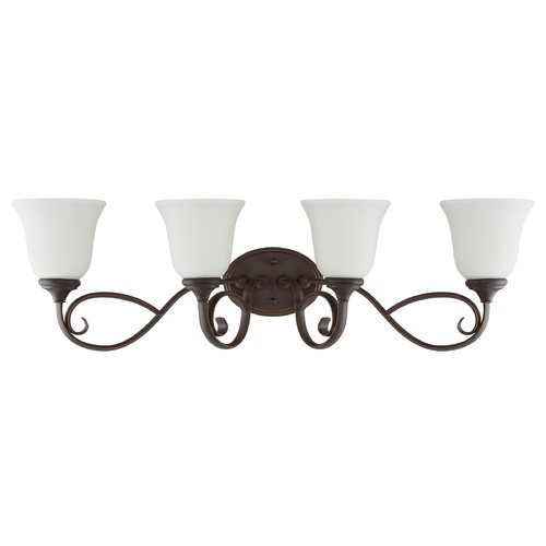 Craftmade Lighting Craftmade Lighting Barrett Place Mocha Bronze Bathroom Light 24204-MB-WG