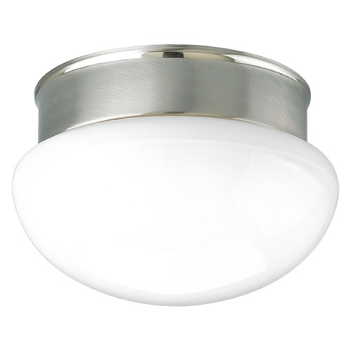 Progress Lighting Progress Lighting Fitter Brushed Nickel Flushmount Light P3410-09