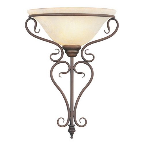 Livex Lighting Livex Lighting Coronado Imperial Bronze Sconce 6182-58