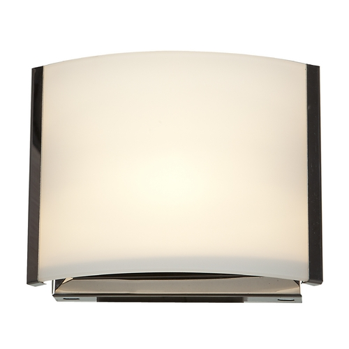 Access Lighting Access Lighting Nitro 2 Brushed Steel Sconce 62291-BS/OPL