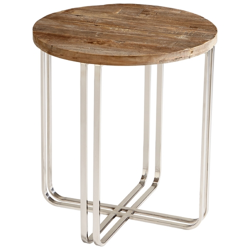 Cyan Design Cyan Design Montrose Black Forest Grove & Chrome Coffee & End Table 6560