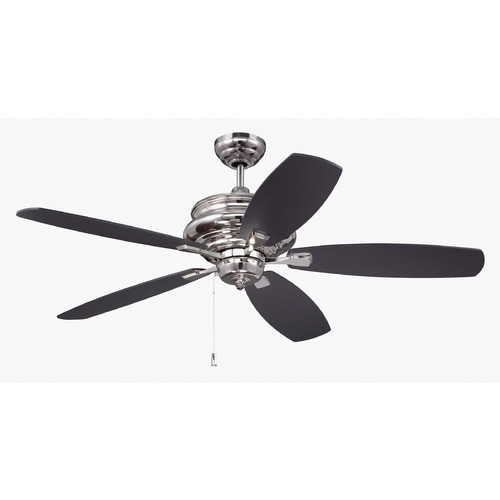 Craftmade Lighting Craftmade Lighting Yorktown Polished Nickel Ceiling Fan Without Light YOR52PLN5