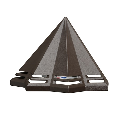 Kichler Lighting Kichler Lighting Textured Architectural Bronze LED Deck Light 16113AZT27