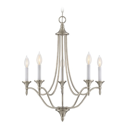 Savoy House Savoy House Lighting Herndon Satin Nickel Mini-Chandelier 1-1008-5-SN