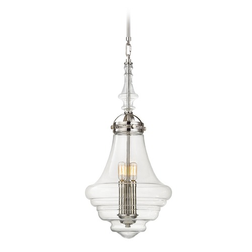 Elk Lighting Elk Lighting Gramercy Polished Nickel Pendant Light 67116/3