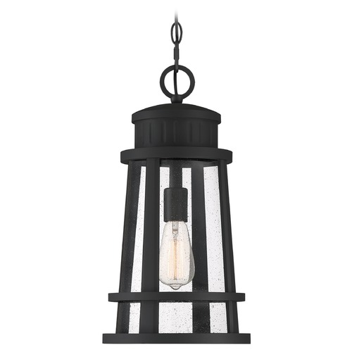 Quoizel Lighting Quoizel Lighting Dunham Earth Black Outdoor Hanging Light DNM1910EK