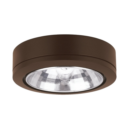 Sea Gull Lighting Sea Gull Lighting Painted Antique Bronze 3.125-Inch Xenon Disk Light 9485-171