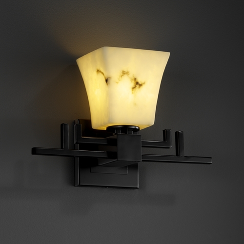 Justice Design Group Justice Design Group Lumenaria Collection Sconce FAL-8701-40-MBLK