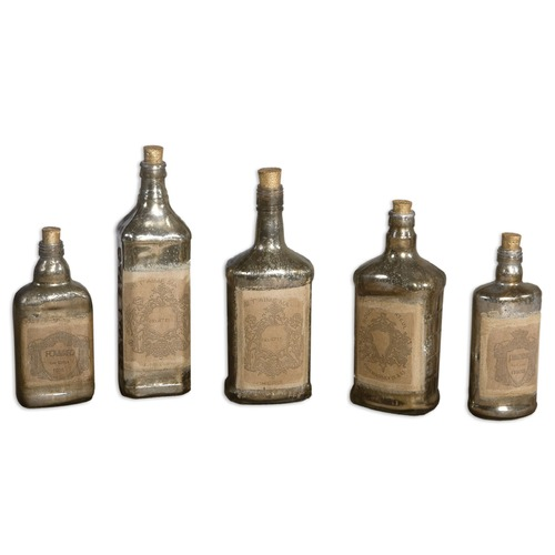Uttermost Lighting Uttermost Recycled Bottles Set of 5 19754